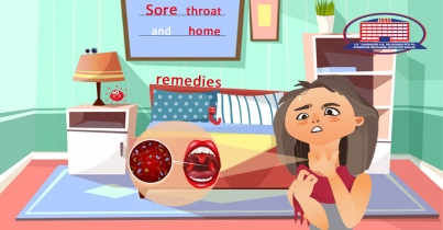 How to treat a sore throat at home?