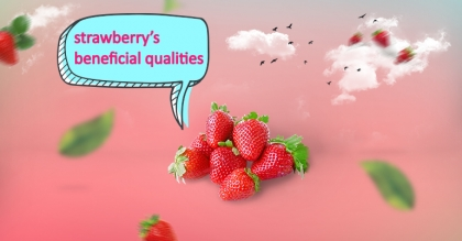 Why should we eat strawberry and what distinctive health benefits does it have?