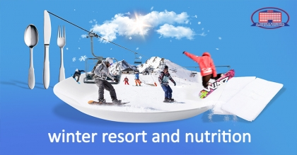 How to eat at winter resort?
