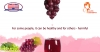 Which color of the grape should we eat and why is red wine beneficial for your health?