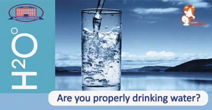 Check if you're properly consuming water or not