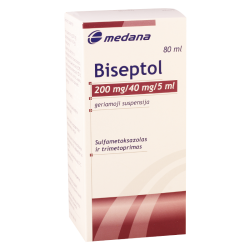 Biseptol 240mg/5ml 80ml susp