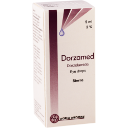 Dorzamed 2% 5ml eye/dr fl