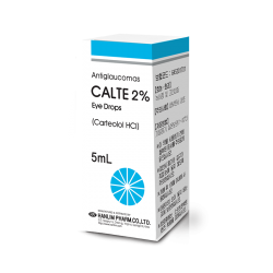 Calte 2% 5ml eye/dr