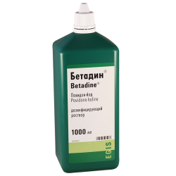Betadin solut. 10% 1000ml