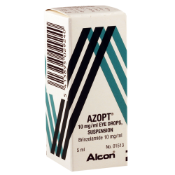 Azopt 1% 5ml eye drops