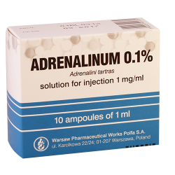 Adrenalin 0.1% 1ml #10a