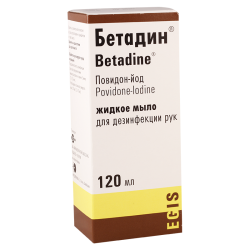 Betadin liquid soap 120ml*