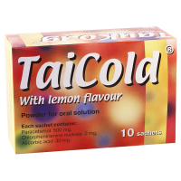 TaiCold w/lemon #10pack GMP