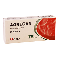 Agregan  75mg #30t GMP