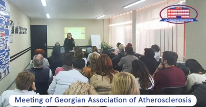 Members of Georgian Association of Atherosclerosis held a meeting at National Center of Surgery