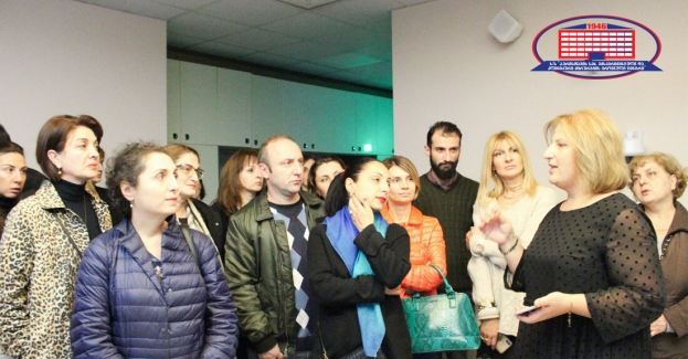 "Radiotherapy department introduced contemporary principles in the management of oncology to representatives of ""Aversi Pharma"""