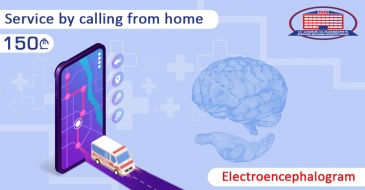 EEG (Electroencephalogram) service by calling from home - 150 GEL!