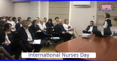 "International paramedic day at National Center of Surgery and ""New Life"" clinic"