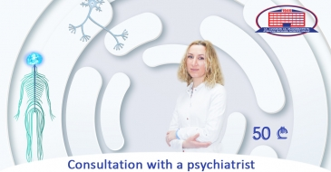 We offer a consultation with a psychiatrist