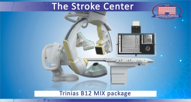 The only Stroke Center where timely transportation to our clinic can save a stroke patient from death and disability