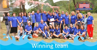 "National Center of Surgery has won the ""Aversi Cup"" in rafting"