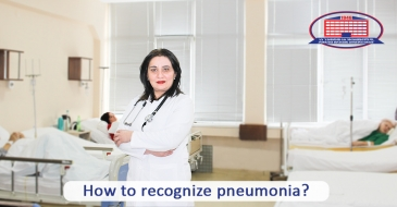 What symptoms does pneumonia characterize with and what does the feverless pneumonia of walking patients mean?