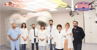 Associate professor of the Murcia University visited the department of radiotherapy