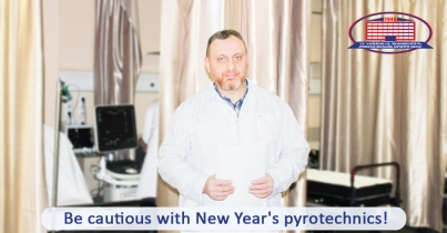 Patients injured from New Year's pyrotechnics needed a reconstructive surgery