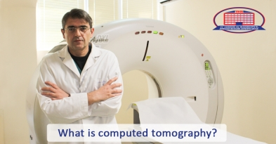 What is computed tomography without which it's impossible to reach the right diagnosis?