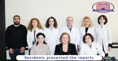 Residents of National Center of Surgery presented their reports during the second scheduled meeting