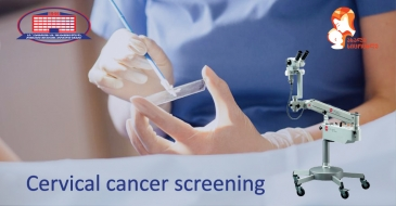 We offer you a cervical cancer screening free of charge