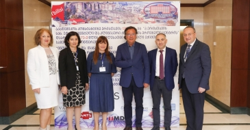 "Fifth international scientific conference  - ""Role of innovations and advanced technologies in the development of medical practices"" was dedicated to 73rd anniversary of National Center of Surgery and 130th anniversary of Konstantine Eristavi"
