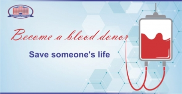 Become a blood donor and save someone's life