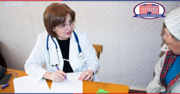 One more gift of the National Center of Surgery – the village Tirdznisi housed a free consultation day.