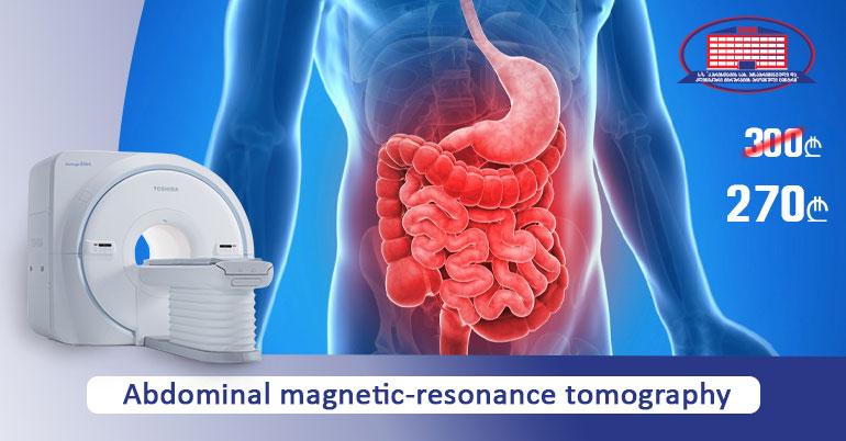 Abdominal magnetic-resonance tomography without contrast
