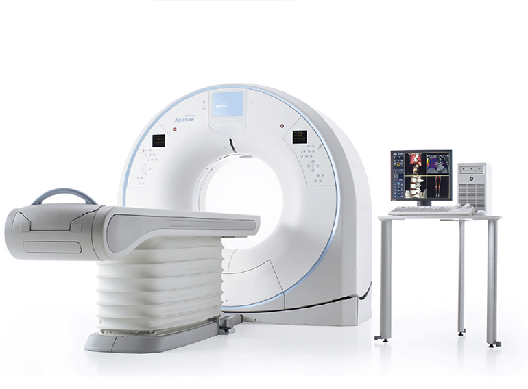 Computed tomograph – Toshiba Aquilion Lightning SP